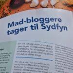 Madbloggere tager til Sydfyn - artikel i blad