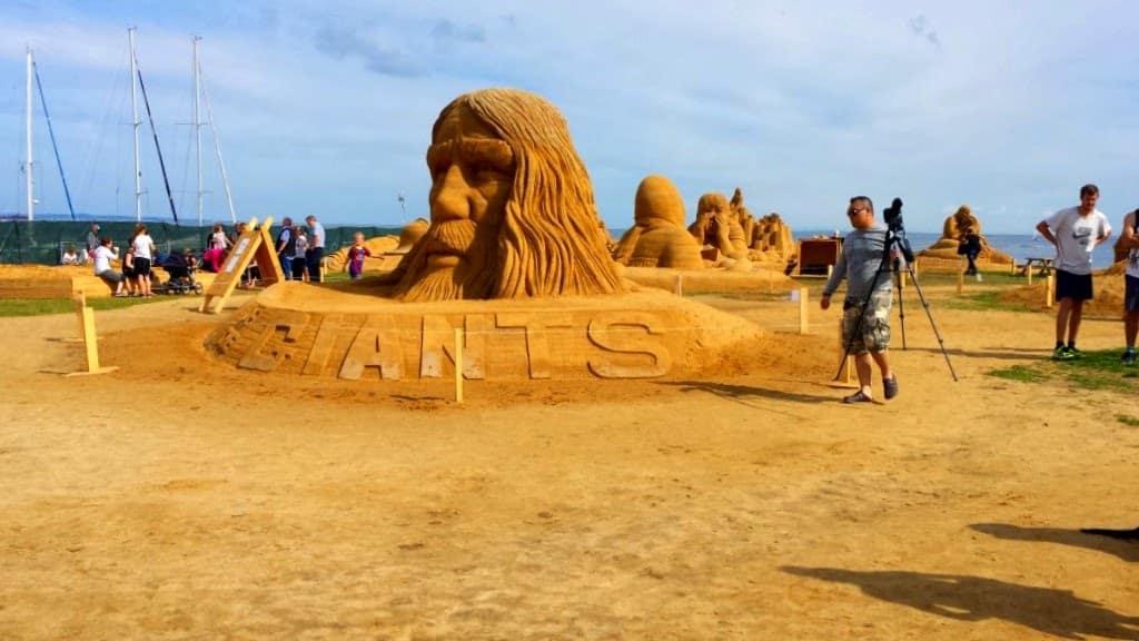 Århus sandskulptur festival – en tur blandt giganter