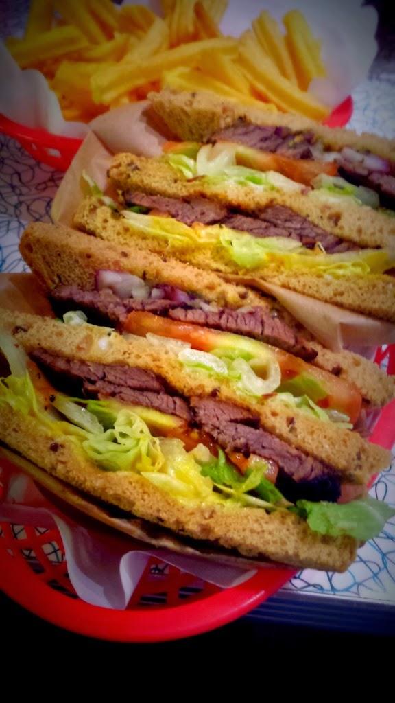 Beef sandwich - The Diner - Århus - Denmark