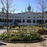 Nimb i Tivoli og haven med blomster